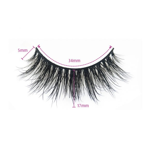 3d mink lashes-MIAMI-Dimension