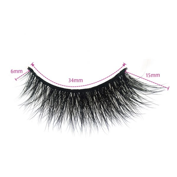 mink false eyelashes wholesale-NYC-Dimension