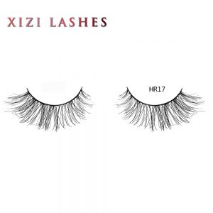 Human Eyelashes with Knot Free Band—XIZI HR17