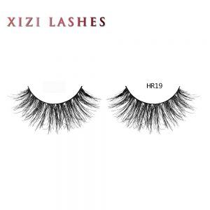 Real Hair Lashes with Knot Free Band — XIZI HR19