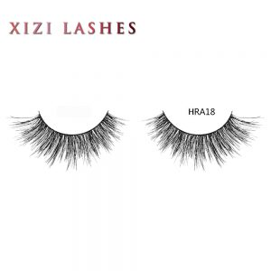 100 Human Hair Eyelashes with Knot Free Band — XIZI HRA18