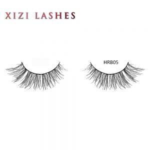 Human Hair Individual Lashes with Knot Free Band — XIZI HRB05