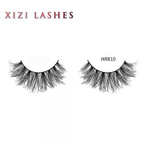 Human Lashes with Knot Free Band — XIZI HRB10