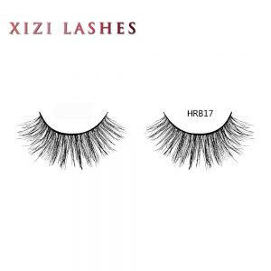 Real Hair False Lashes with Knot Free Band — XIZI HRB17