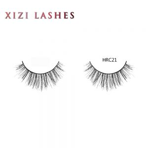 Real Hair Eyelashes with Knot Free Band — XIZI HRC21