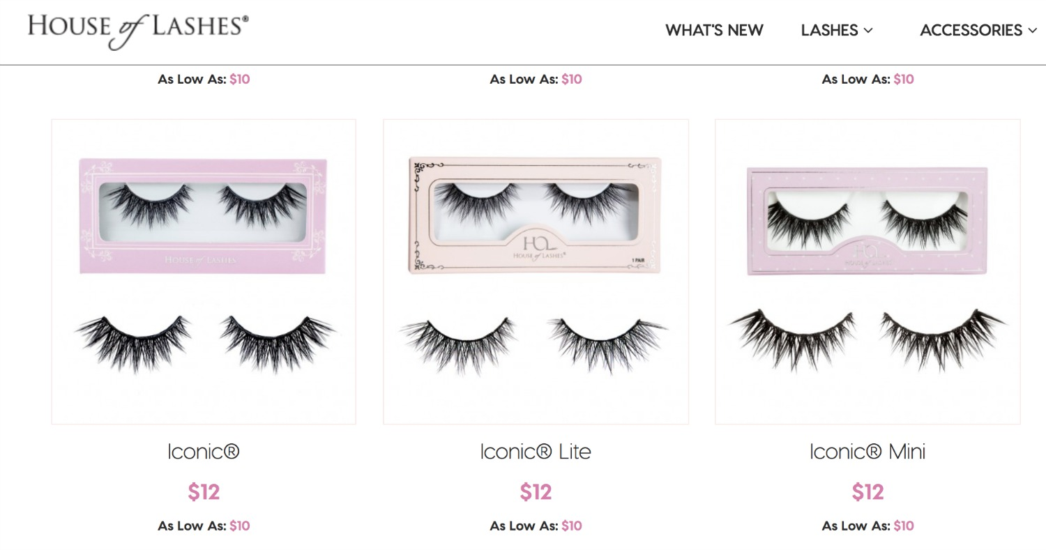House of Lashes—xizi lashes