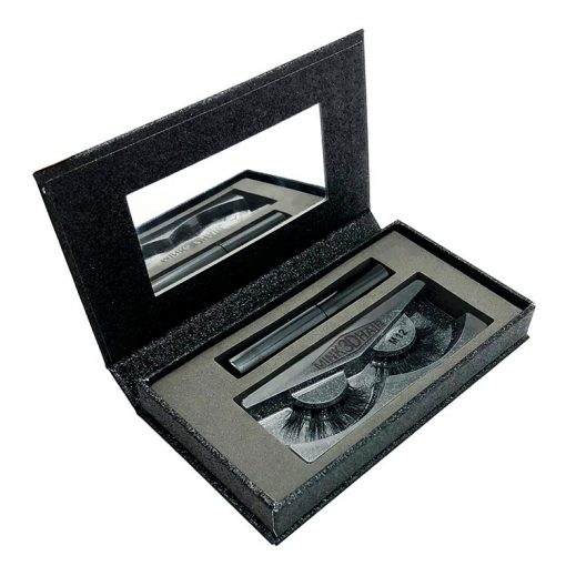 Magnetic-eyelashes-case-with-mirror-100-Real